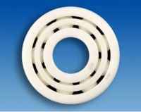 Double-row hybrid deep groove ball bearing HYSN 4301 T1 P0C0 (12x37x17mm)