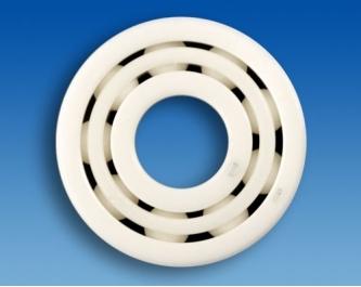 Double-row hybrid deep groove ball bearing HYSN 4302 T1 P0C0 (15x42x17mm)