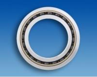 Hybrid angular contact bearing HYSN 7203B T3 P5 UL (17x40x12mm)