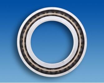 Hybrid spindle ball bearing HYSN 7307E T3 P4 UL (35x80x21mm)