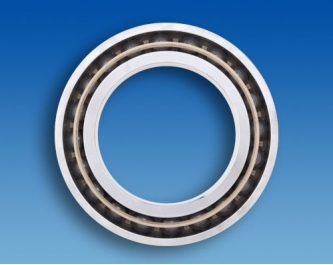 Hybrid spindle ball bearing HYSN 7309E T3 P4 UL (45x100x25mm)