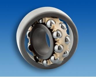 Hybrid self-aligning ball bearing HYSN 1202 HW3 (15x35x11mm)