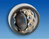 Hybrid self-aligning ball bearing HYSN 2205 T2 (25x52x18mm)