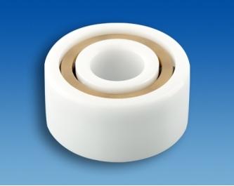 Doppelreihiges Keramik-Rillenkugellager CZ 4202 T2 P0C3 (15x35x14mm)