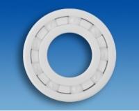 Hochvakuum Keramik-Rillenkugellager CZ-HV 6200 T6 P0C3 (10x30x9mm)