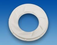 Keramik-Mahlwerk CA-99 30,3x56,7x7,8mm aus technischer Keramik gemäß Zeichnung